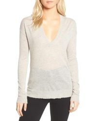 Zadig & Voltaire - V-neck Cashmere Sweater - Lyst
