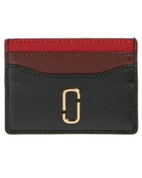 Marc Jacobs - Snapshot Leather Card Case - Lyst