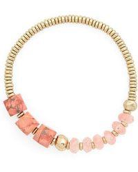 Treasure & Bond - Semiprecious Stone Nugget Bracelet - Lyst