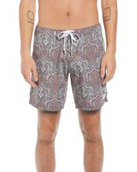 Rhythm - Bazaar Swim Trunks - Lyst