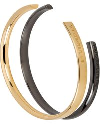 Stella Valle - You Complete Me Set Of 2 Cuffs - Lyst