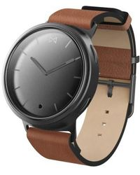 Misfit - Phase Leather Strap Smart Watch - Lyst