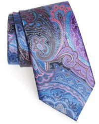 Ermenegildo Zegna - Quindici Paisley Silk Tie - Lyst