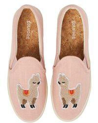 Soludos - Llama Slip-on Sneaker - Lyst