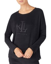Lauren by Ralph Lauren - Logo Sweatshirt - Lyst