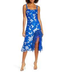 Bronx and Banco - Tiffany Ruffle Dress - Lyst