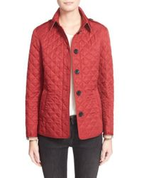Burberry - Ashurst Quilted Jacket - Lyst