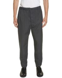 Lemaire - Tapered Leg Pants - Lyst