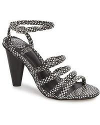 Vince Camuto - Kaniana Cone Heel Cage Sandal - Lyst