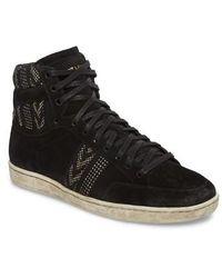 Saint Laurent - High Top Sneaker - Lyst
