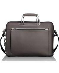 Tumi - Arrive - Hamilton Leather Briefcase - Lyst