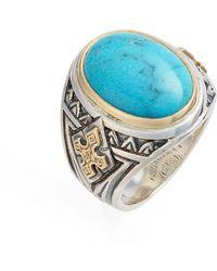 Konstantino - Heonos Turquoise Ring - Lyst