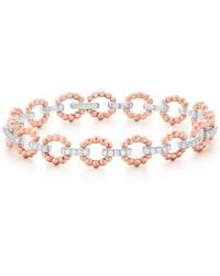 Kwiat - Beaded Link Diamond Bracelet - Lyst