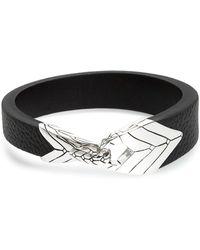 John Hardy - Modern Chain Leather Bracelet - Lyst