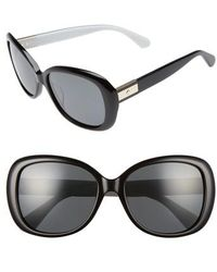 Kate Spade - Judyann 56mm Sunglasses - Lyst