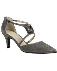 J. Reneé - Halleigh Embellished Pointy Toe Pump - Lyst