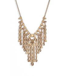 Givenchy - Crystal Fringe Necklace - Lyst