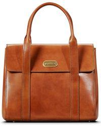 Shinola - Small Harness Leather Satchel - - Lyst