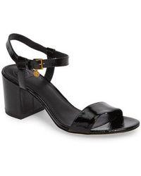 Tory Burch - Laurel Ankle Strap Sandal - Lyst