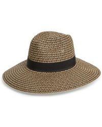 Sole Society - Woven Straw Sun Hat - Lyst