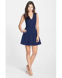 Felicity & Coco - Back Cutout Fit & Flare Dress - Lyst