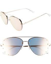 Quay - X Jaclyn Hill Roxanne 62mm Stud Aviator Sunglasses - Lyst