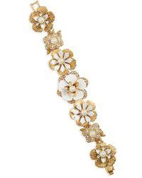 Marchesa - Pure Petals Flex Bracelet - Lyst
