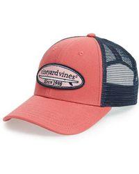 Vineyard Vines - Surf Patch Trucker Hat - - Lyst
