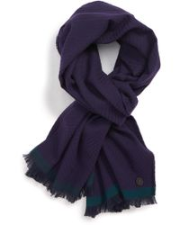 Ted Baker - Cotton Twill Scarf - Lyst