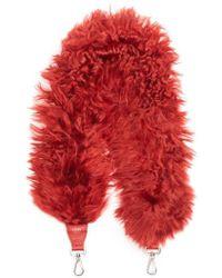 Fendi - Genuine Alpaca Fur Guitar Strap - Lyst