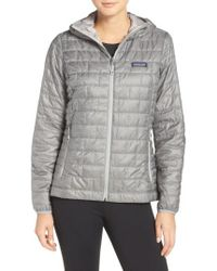Patagonia - 'nano Puff' Hooded Water Resistant Jacket - Lyst