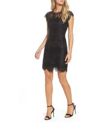 BB Dakota - Jayce Lace Sheath Dress - Lyst