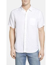 Tommy Bahama - 'seaglass Breezer' Short Sleeve Linen Sport Shirt - Lyst