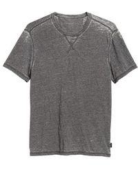 John Varvatos - Jaspe Burnout T-shirt - Lyst