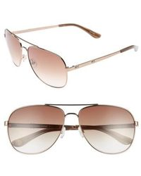 Juicy Couture - Shades Of 59mm Aviator Sunglasses - Lyst