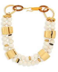 Lizzie Fortunato - Reflection Collar Necklace - Lyst