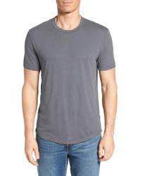 James Perse - Crewneck Jersey T-shirt - Lyst