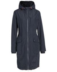 Joules - Hooded Fleece Lined Raincoat - Lyst