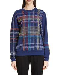 Dries Van Noten - Holmon Beaded Cotton Sweatshirt - Lyst