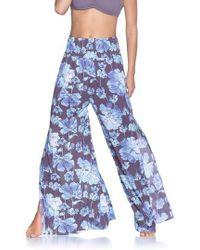 Maaji | Watercolor Lagune Cover-up Trousers | Lyst