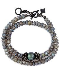 Armenta - Old World Mystic Double Wrap Bracelet - Lyst