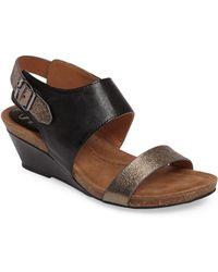 Söfft - 'vanita' Leather Sandal - Lyst