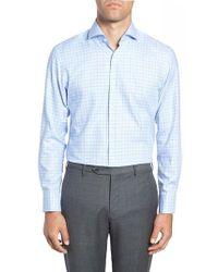 BOSS - Mark Sharp Fit Check Dress Shirt - Lyst