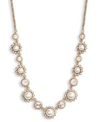 Marchesa - Crystal Necklace - Lyst