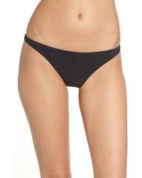 9bf346b08b3 Lyst - Tory Burch  orchard  Hipster Bikini Bottoms in Black