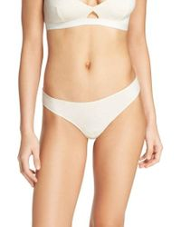 Madewell | Jersey Thong | Lyst