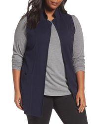Foxcroft - Jodi Longline Sweater Vest - Lyst