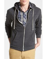 Threads For Thought - Threads For Thought Trim Fit Heathered Hoodie - Lyst