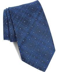 John Varvatos - Dot Crosshatch Tie - Lyst