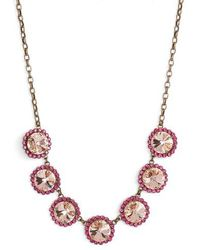 Sorrelli - Crystal Necklace - Lyst